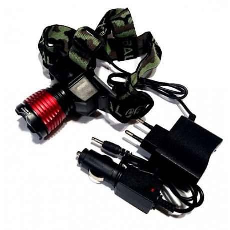 Налобный фонарик BL-6908