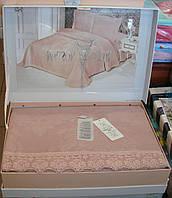 Комплект спальный покрывало + 2 наволочки Maison D'or.