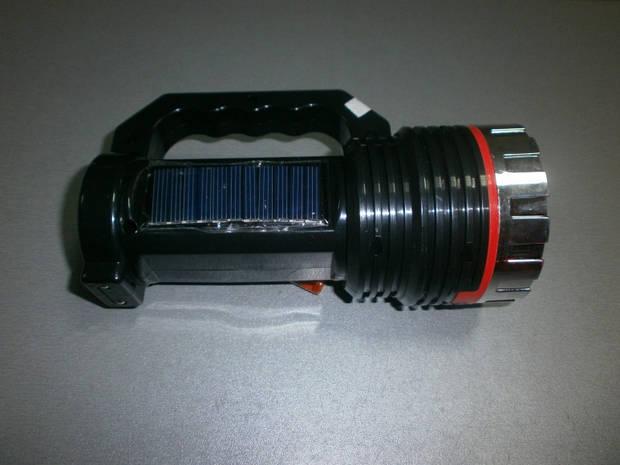 Фонарь переносной аккумуляторный HL-1012 солнечная батарея