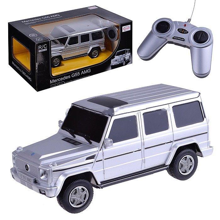 Машина на радиоуправлении Mercedes G55 AMG 30500 1:24Rastar - СОНЧИК. Магазин игрушек и подарков в Киеве