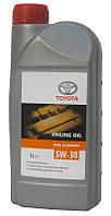 Масло моторное синтетика 5w-30 1 л. (производство TOYOTA ), код запчасти: 0888083388