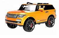 Детский электромобиль Range Rover 6628 оранжевый
