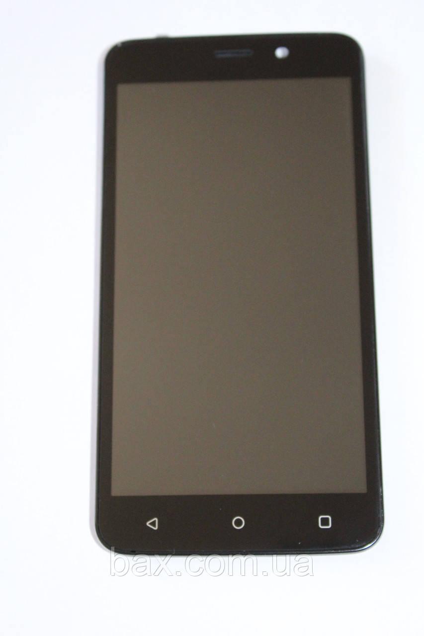 Fly FS509 модуль с рамкой (ориг.) черный
