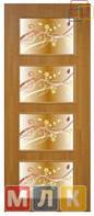 ОМИС Двери ламинированные финиш-пленкой Полотно с фотопечатью Альта 3 ФП, 2000*700*34 мм