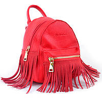Молодежная женская сумка-рюкзак yes weekend красная (554185)