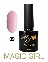 Гель лак 10мл нежно розовый Magic Girl 09