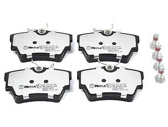 Дисковые тормозные колодки (задние) на Renault Trafic II  2001->2014  — Meyle (Германия) - MY0252398017/PD