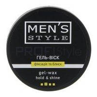 "Вікі Profi Style Mens Style Гель-воск для мужчин ""Фиксация и блеск"""