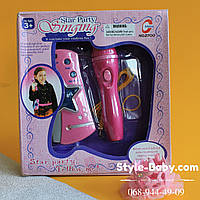Детский микрофон караоке коробка 24-6-22 см