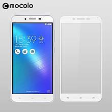 Защитное стекло Mocolo Full сover для Asus Zenfone 3 Max ZC553KL белый