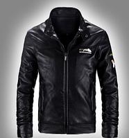 Мужская кожаная куртка. Модель 61112, фото 2