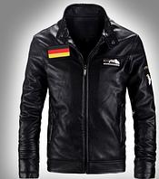 Мужская кожаная куртка. Модель 61112, фото 4