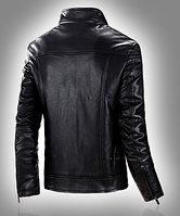 Мужская кожаная куртка. Модель 61112, фото 7