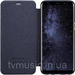 Чехол-книжка Nillkin Sparkle Leather PU Black для Samsung S8 G950