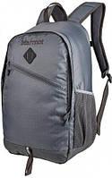 Серый городской рюкзак Marmot Anza cinder/slate grey MRT 23860.1452, полиэстер, 22 л.
