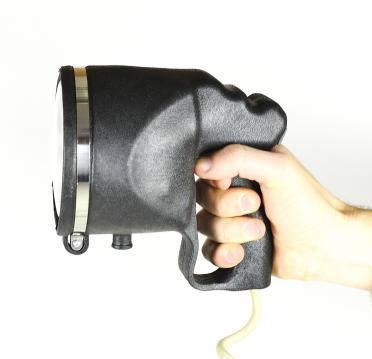 Прожектор-ксенон на прищепке, с ручкой, корпус черный 3600 lm, точечный, фото 2