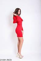 Женское платье Подіум Galea 21091-RED XS Красный