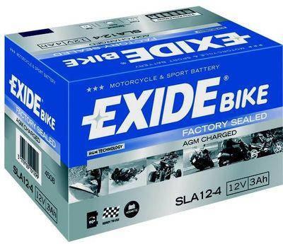 Аккумулятор залитый и заряженный AGM 3Ah 50A EXIDE SLA12-4 = AGM12-4, фото 2