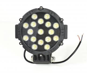 Прожектор поисковый Led для судна 3600 lm, корпус алюминий, свет рассеянный, фото 2