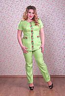 Костюм от Space for ladies  Жакет Флай брюки Захара размер 56