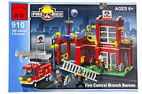 Конструктор Brick Пожарная Тревога, 380 Деталей