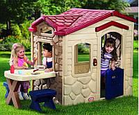 """Детский игровой домик """"Пикник"""" Little Tikes - США - две скамеечки , телефон, посудка и аксессуары"""