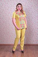 Костюм от Space for ladies Жакет Украинка брюки Захара размер 54
