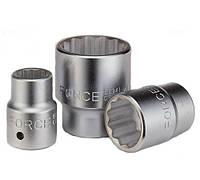 Головка торцевая 1 дюйм, 12 граней, 46 мм Force