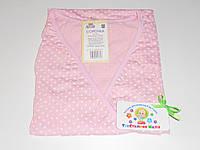 Ночная рубашка для родов и кормления 46 размер (розовый)