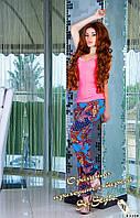 Летние брюки из штапеля много цветов БАТАЛЫ