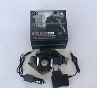 Аккумуляторный налобный фонарь Bailong BL-6631 Cree-Q5