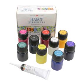 Краски для витража