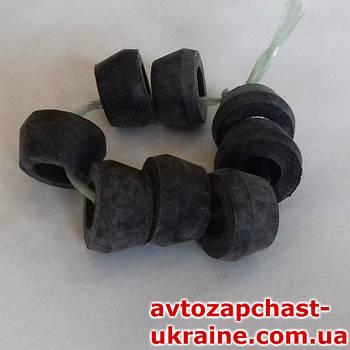 Втулка амортизатора ВАЗ 2101-07, Москвич 8шт. [Резина, Завод]
