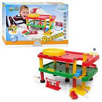 Детский гараж для малышей 10031