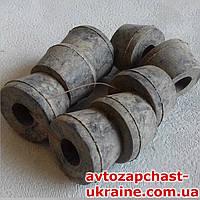 Втулка амортизатора ГАЗ-53 8шт. [Резина, Завод]