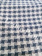 Льняная умягченная костюмная ткань
