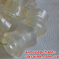 Втулка реактивных тяг ВАЗ 2101-07 стандарт 6+4 шт. [Полиуретан прозрачный, Украина]