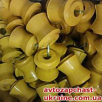 Втулка реактивных тяг ВАЗ 2101-07 стандарт 6+4 шт. [Полиуретан цветной, Украина]