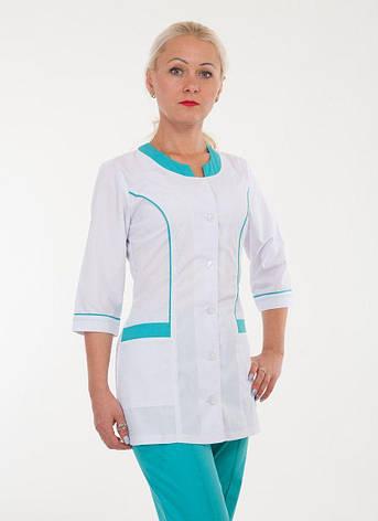 Медицинский костюм женский 2277 ( батист 40-66 р-р ), фото 2