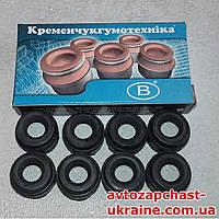 Комплект сальников клапанов ГАЗ-24, ГАЗ-53, УАЗ, Газель [Резина, Кременчугрезинотехника]