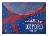 Папка, конверт на кнопке, А4, Oxford, YES, 491128