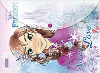 Папка, конверт на кнопке, А4, Frozen, 1 Вересня, 491216
