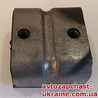 Подушка двигателя ГАЗ-53 передняя (копыто) [Металл+Резина, Украина]