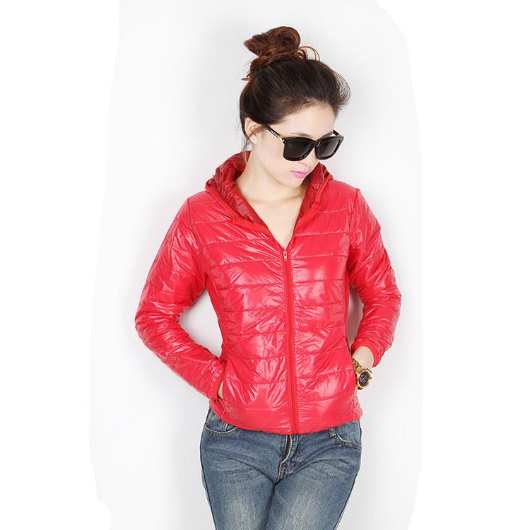 83f450649a9 Лёгкая подростковая женская куртка с капюшоном на тонком синтепон Весна  Осень Унисекс