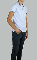 Школьная рубашка для мальчика 100% хлопок- лакоста