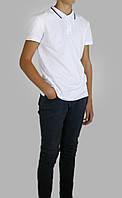 Школьная рубашка для мальчика 100% хлопок-лакоста