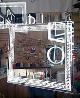 Зеркало 700*900 мм со светодиодной подсветкой, индивидуальный размер