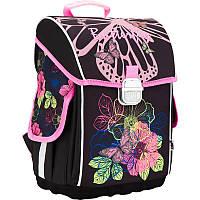 Рюкзак Kite K17-503S-2 503 Blossom школьный каркасный детский для девочек 34см х 27см х 15см