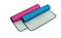 Коврик для фитнеса и йоги 4531 TPE+NY, 2 цвета: толщина 5мм, размер 1,73x0,61м