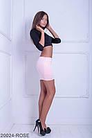 Женская юбка Подіум Aleksa 20024-ROSE XS Розовый
